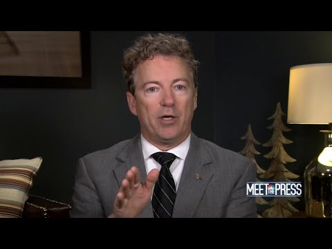 Full Rand Paul: 'Risk to our national interest to be involved with the Saudis | Meet The Press