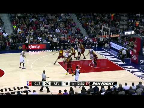 HD Cleveland Cavaliers vs Atlanta Hawks Full Highlights December 30, 2014 NBA Season 2014 15
