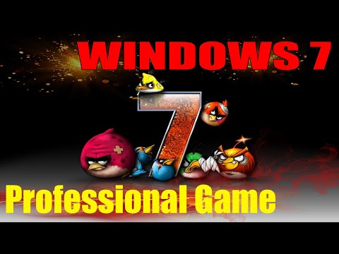 Windows 7 Professional Game OS - Игровая сборка!