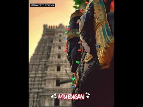 Lord Murugan Whatsapp Status ❤️😍 New WhatsApp Status 🙏🏻murugan Songs Whatsapp Status Tamil Murgan cs