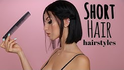 Short Hair Hairstyles to Try!
