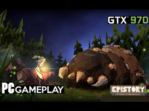 Epistory Typing Chronicles PC Gameplay (Fantastic Setting's) |