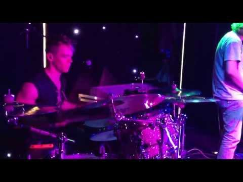 Tim Owen on Drums playing 'Dynamite' with Danyl Johnson from X-Factor.