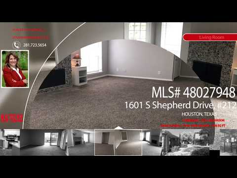 Property For Sale - 1601 S Shepherd Dr, #212, Houston, TX 77019