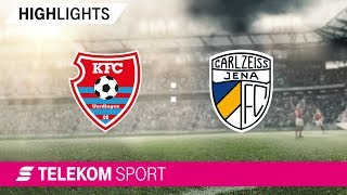 KFC Uerdingen – Carl Zeiss Jena   Spieltag 11, 18/19   Telekom Sport