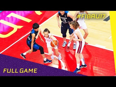 Latvia v Korea - Class 9-16 - Full Game - FIBA U17 Women's W