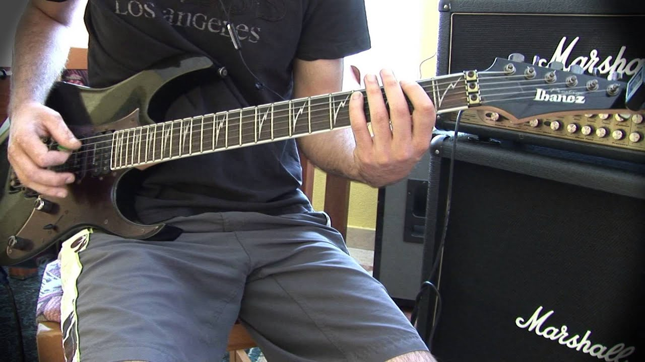 how to play the final countdown on guitar