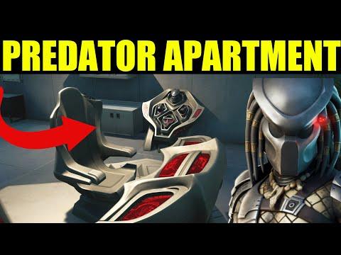 Fortnite PREDATORS APARTMENT Location! Visit Predators apartment in Hunters Haven as Predator
