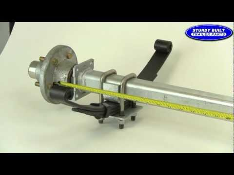 How to Measure an Axle Video from Sturdy Built Trailer Parts