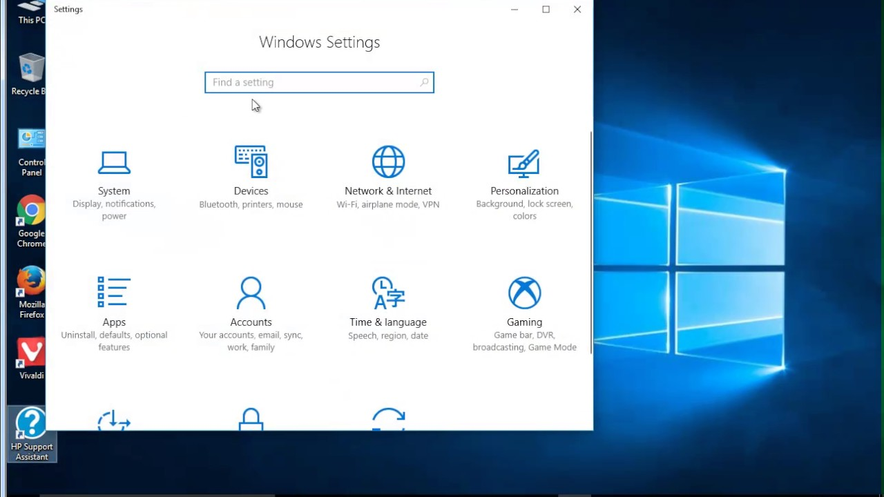 Uninstall HP Support Assistant on Windows 10 Creators Update