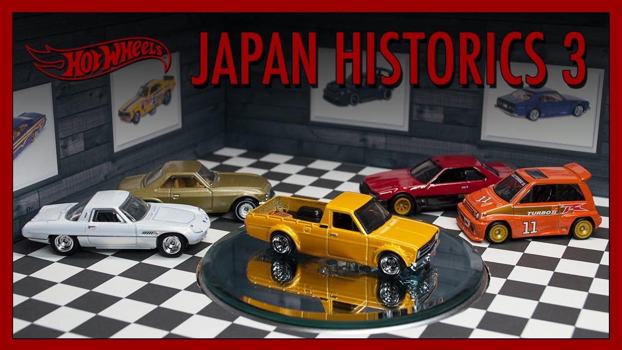 Hot Wheels Japan Historics 3 Review (2020 Car Culture ...