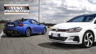 L'emozione è una questione di trazione? | VW Golf GTI vs Subaru BRZ