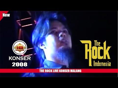 THE ROCK INDONESIA   AHMAD DANI TAMPIL KECEe .. (LIVE KONSER MALANG 2008)
