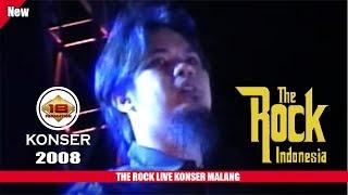 THE ROCK INDONESIA | AHMAD DANI TAMPIL KECEe .. (LIVE KONSER MALANG 2008)