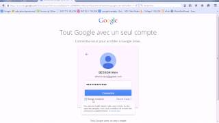 Comment se connecter à google drive