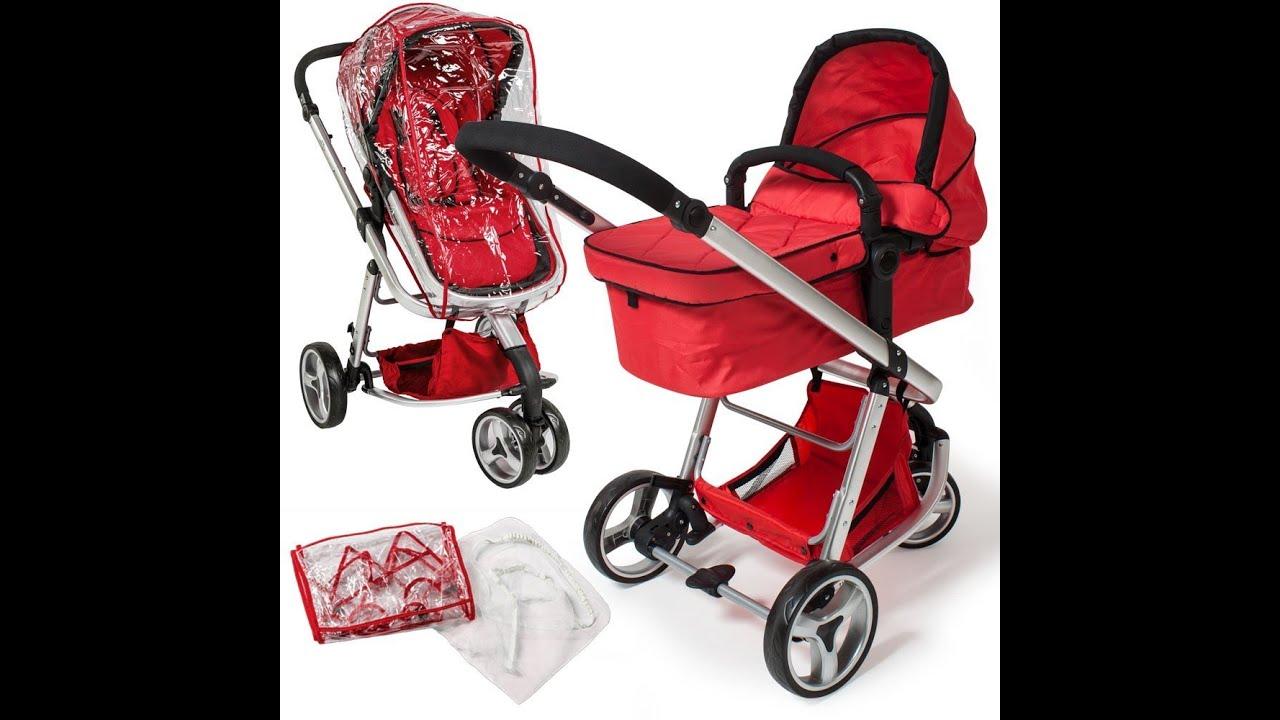Tectake 3 en 1 sillas de paseo coches carritos para bebes for Bebe 3 meses silla paseo