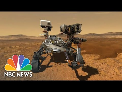 NASA's Mars Rover Perseverance Lands On Red Planet | NBC News