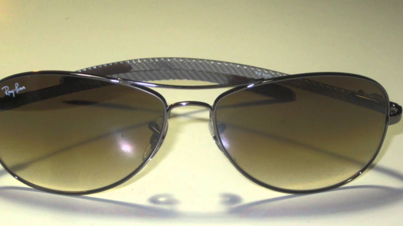 ray ban rb8301 tech aviator carbon fibre