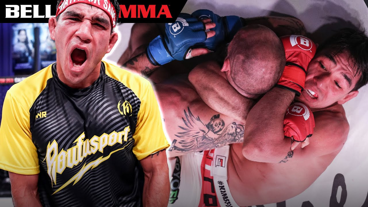 Top Fight Ending Knockout Submissions by Sanchez! | BELLATOR MMA