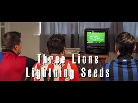 Three Lions with Lyrics [Lightning Seeds/Baddiel & Skinner cover] feat. Mr Blobby (90s Nostalgia)