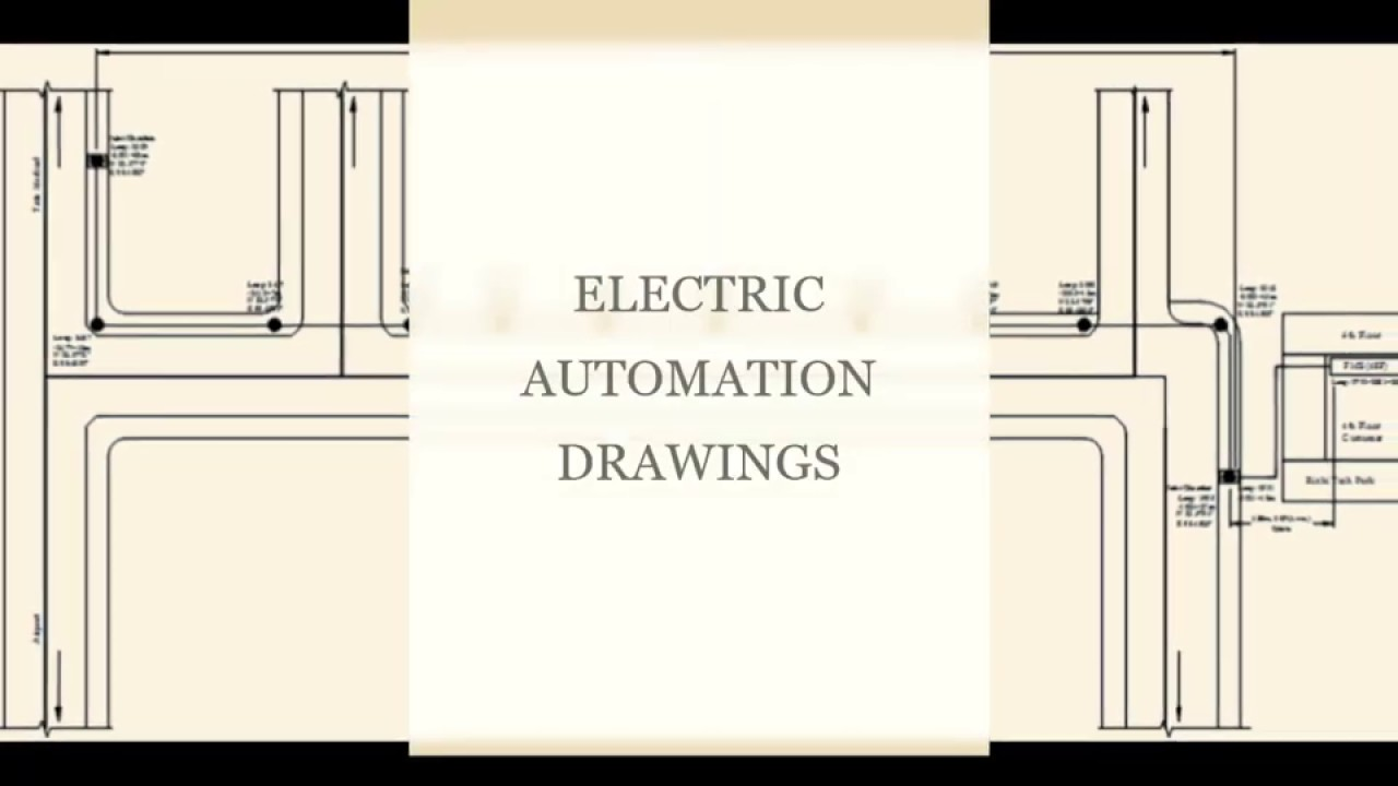 ELECTRIC AUTOMATION DRAWINGS | AUTOCAD FILES |