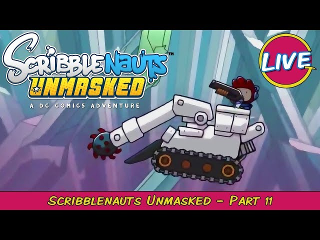 Gameboy World! Scribblenauts Unmasked Pt. 11 - Grawlix Plays LIVE