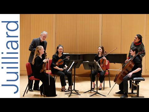 Bartók's String Quartet No. 1   Juilliard Ronald Copes & Astrid Schween Music Master Class