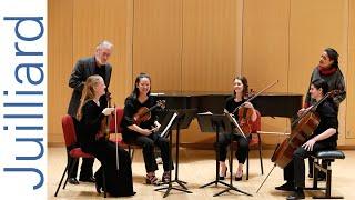 Bartók's String Quartet No. 1 | Juilliard Ronald Copes & Astrid Schween Music Master Class