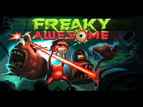 Let's Play Freaky Awesome - Part 1 - The Mutations of Isaac. Action Rogue-lite.