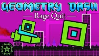 ANOTHER IMPOSSIBLE GAME - Geometry Dash | Rage Quit