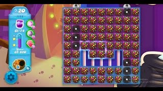 Candy Crush Soda Saga Level 1188 ★★★ Coloring Candy Fun The Highest Score