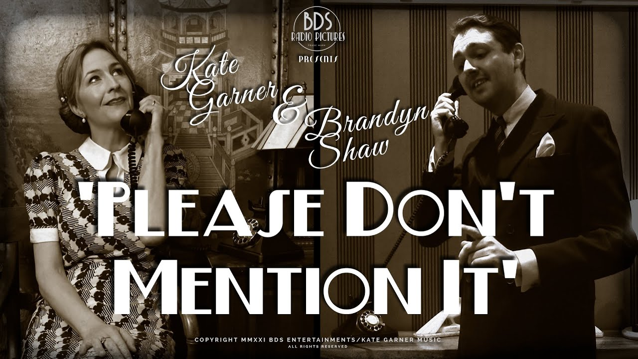 'Please Don't Mention It' #AtHome with #BrandynShaw and #KateGarner