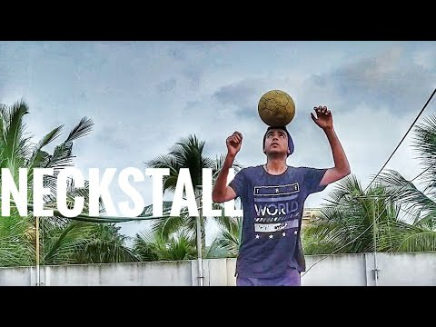 The Neckstall: Easiest Football Freestyle skill.