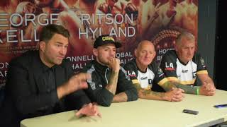'WHEN THE GEORDIE GOLOVKIN HITS YOU - IT GOES UP IN SMOKE' - EDDIE HEARN / LEWIS RITSON POST FIGHT