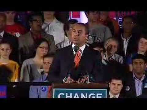 Deval Patrick Endorses Barack Obama