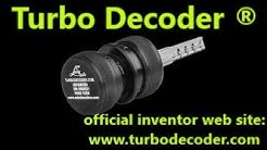 TURBO DECODER professional locksmith tools open Audi A6 by Lucky Locks