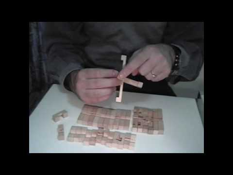 How I solved my diamond wooden burr puzzle...