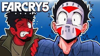 Far Cry 5 - THE SPOOKY HAUNTED HOUSE! Ep. 13!