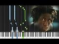 Daniel Caesar- Streetcar [#reggiewatkins piano synthesia tutorial)