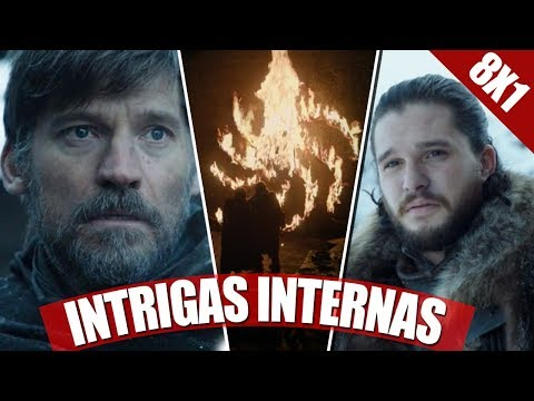 O INÍCIO DA ÚLTIMA TEMPORADA! VALEU A PENA A ESPERA? - REVIEW GAME OF THRONES (08X01)