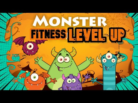 Monster Mash! (Halloween Video Game Workout for Kids)