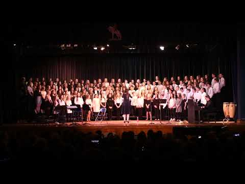 Believe - The Polar Express OST - Performed by the Combined Choir of Wall Intermediate School