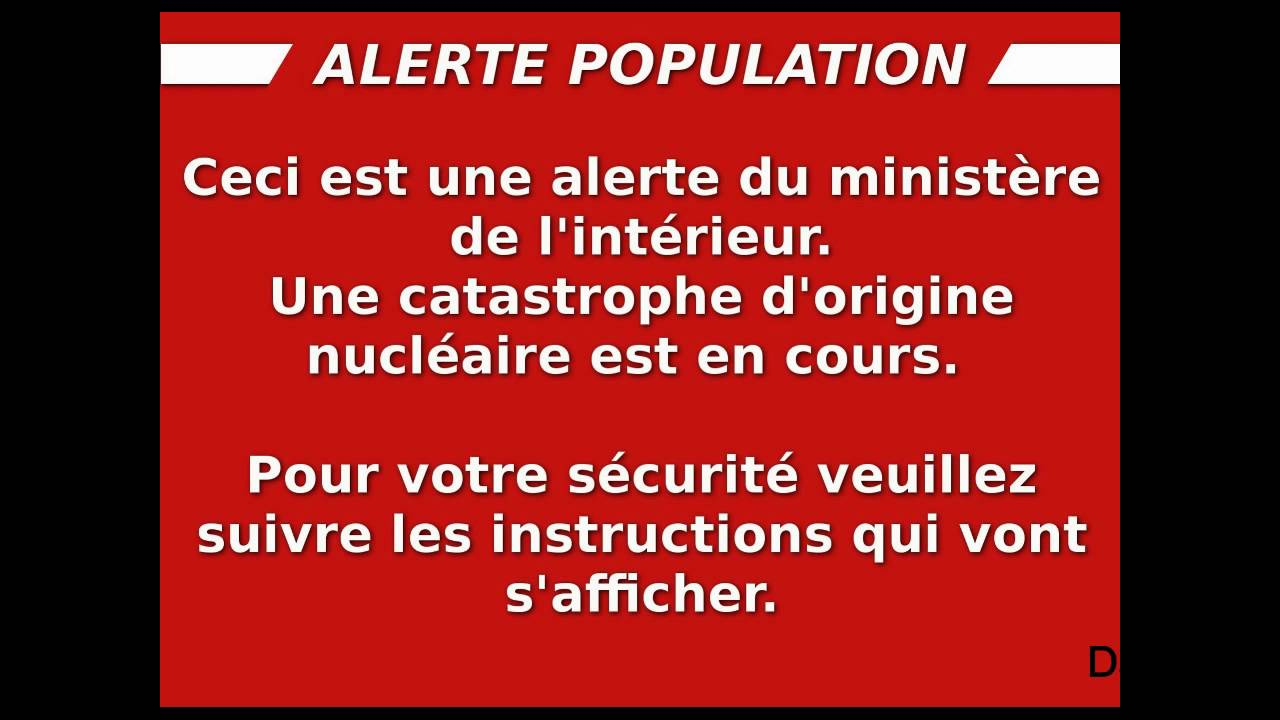 alarme nucleaire