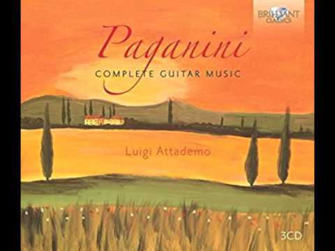 Paganini - complete guitar music 1-3
