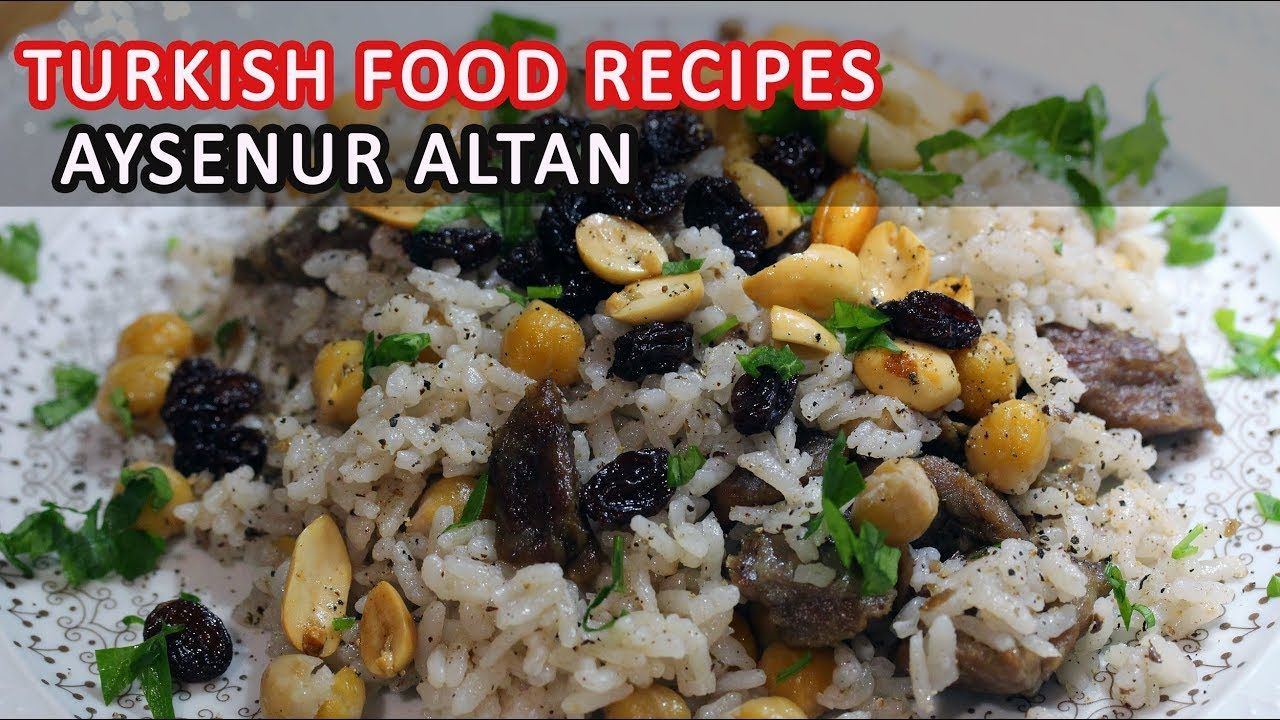 Rich turkish rice pilaf recipe with meat chickpeas nuts and rich turkish rice pilaf recipe with meat chickpeas nuts and raisins aysenur altan recipes turkish food recipes forumfinder Choice Image