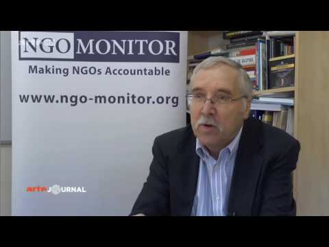 Prof. Gerald Steinberg, French Arte TV, on World Vision, August 31, 2016 French
