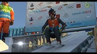 Дети Азии 2019. Прыжки на лыжах с трамплина (К-70) юноши