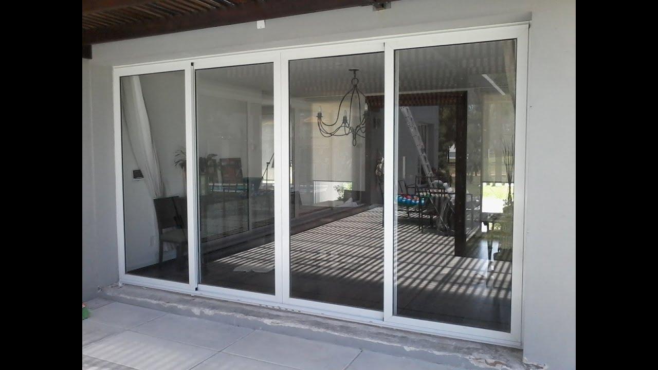 como hacer ventanas de aluminio y vidrio youtube