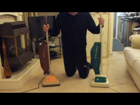 Revisited: Hoover Junior 1346 (1967) and 1346A (1970) vintage vacuum cleaners