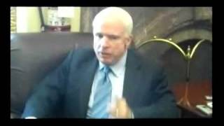McCain Busted on DADT by Reporters